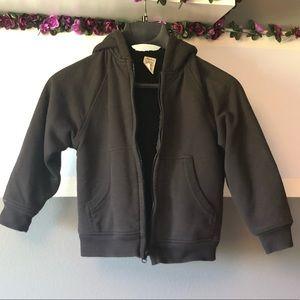 Other - Boys Zippered Sweatshirt